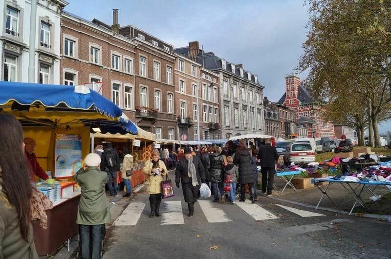 mercado de Lieja