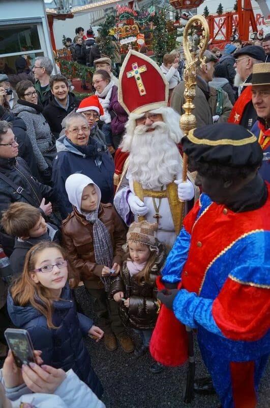 Mercados navideños de Bélgica, Mercado navidad de Lieja, San Nicolás