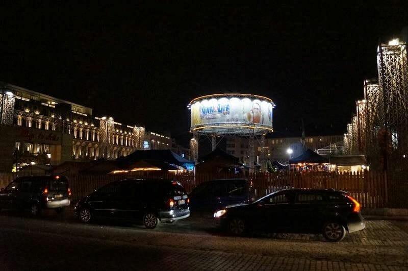 "plaza St. Lambert al ""Marché de Noël"""