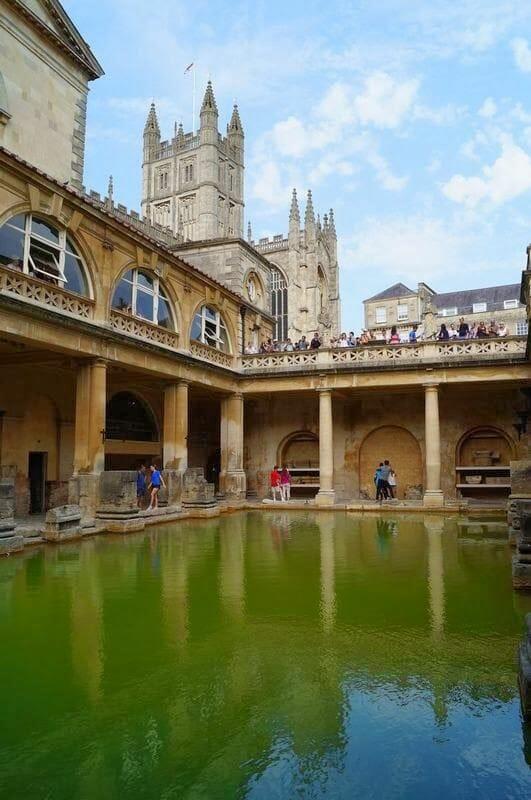 baños romanos de Bath