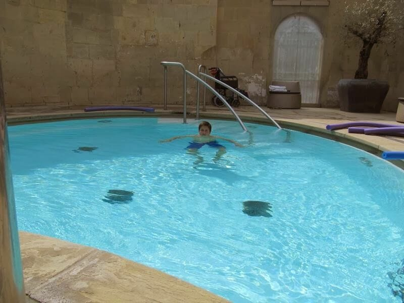 Cross bath thermae Spa de Bath