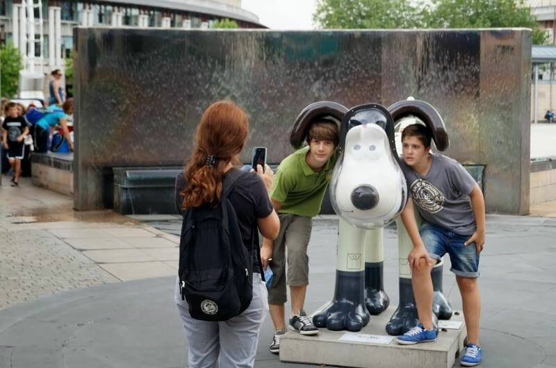 esculturas de Gromits en Bristol