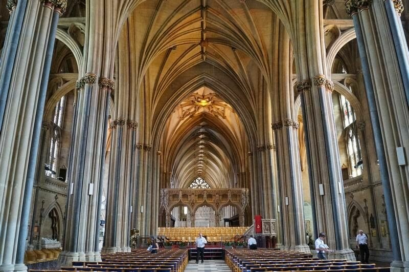 nave Catedral de Bristol