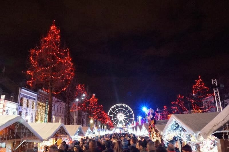 Mercado de Navidad Bruselas