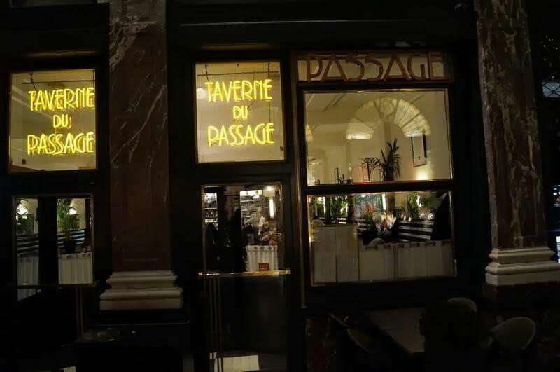 taverne du passage bruselas