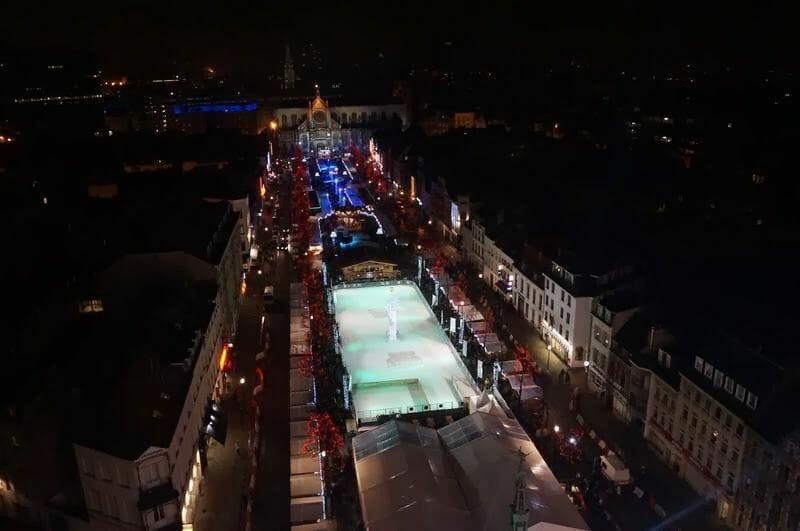Mercado de Navidad Bruselas y pista de hielo