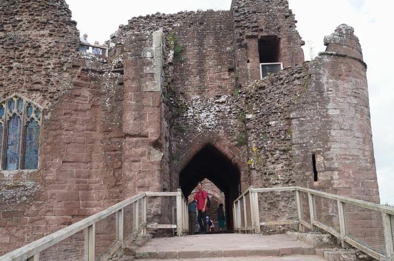 entrada castillo de Goodrich