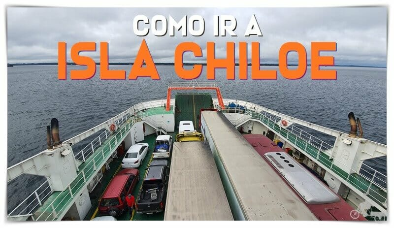 Cómo ir a isla de Chiloé desde Puerto Montt o puerto Varas