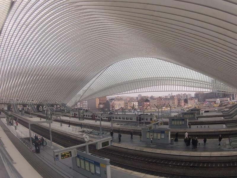 estación de tren de Lieja Guillemins