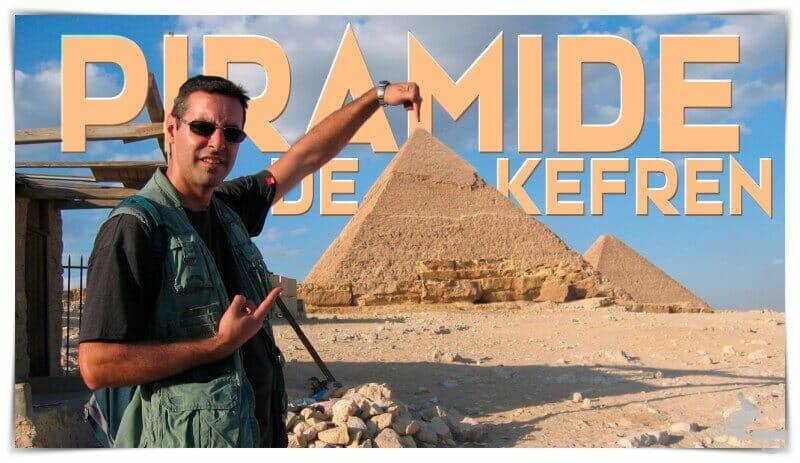 interior pirámide kefrén