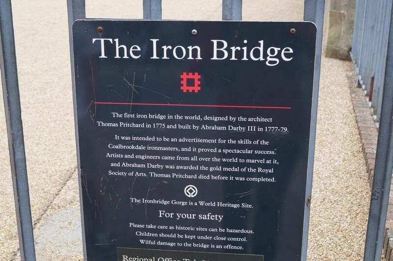 puente de hierro mas antiguo del mundo