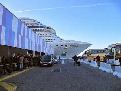 puerto cruceros Marsella
