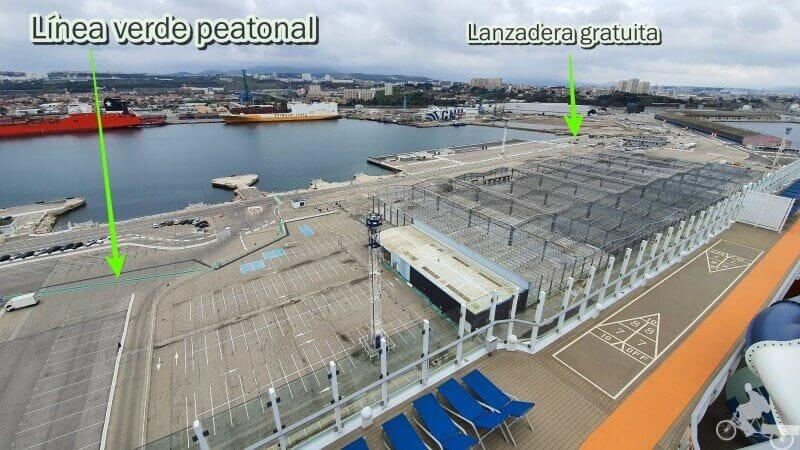 linea verde puerto marsella