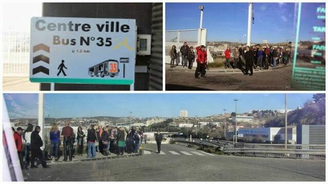 cómo ir desde el puerto de cruceros a Marsella