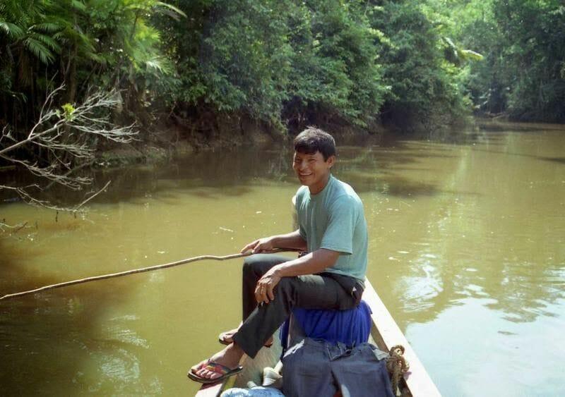 pescar en la selva