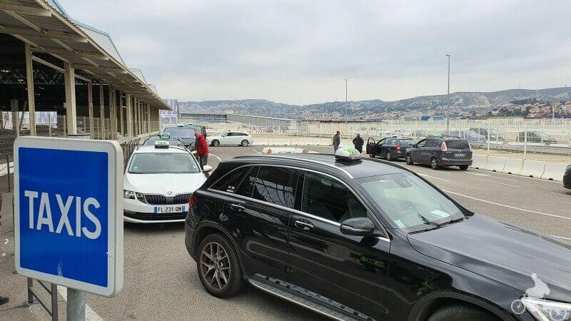 taxis puerto de Marsella