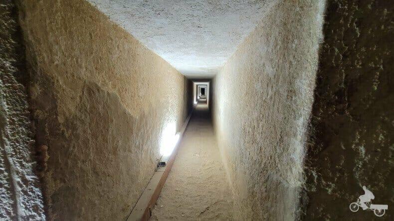 túneles pirámide de Kefrén
