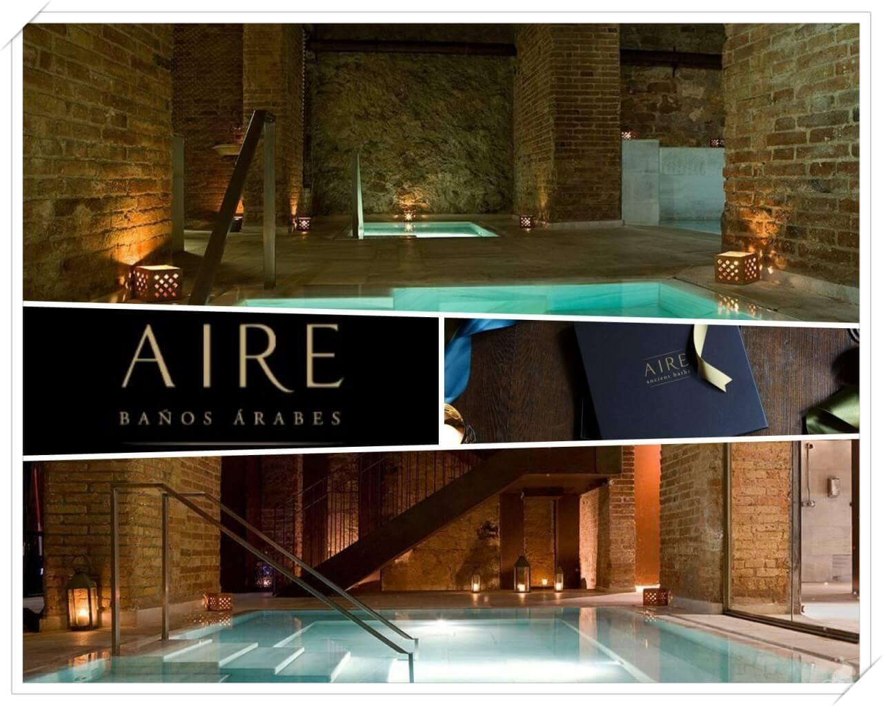 Baños árabes Aire - mejores free tours en Barcelona