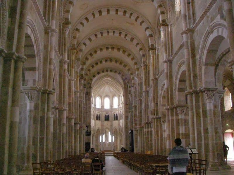 timpano santa Magdalena Vezelay