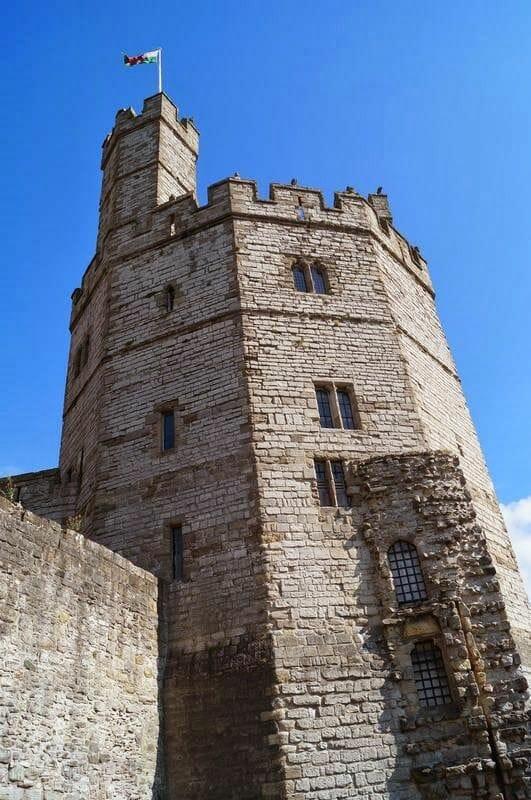 torreón castillo de Caernarfon