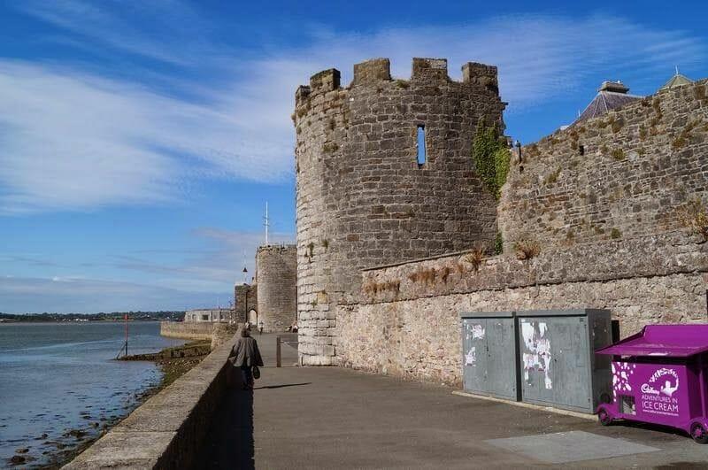 torre almenas castillo de Caernarfon