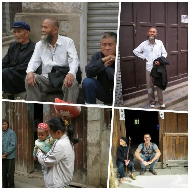 gente del pueblo de daxu en china
