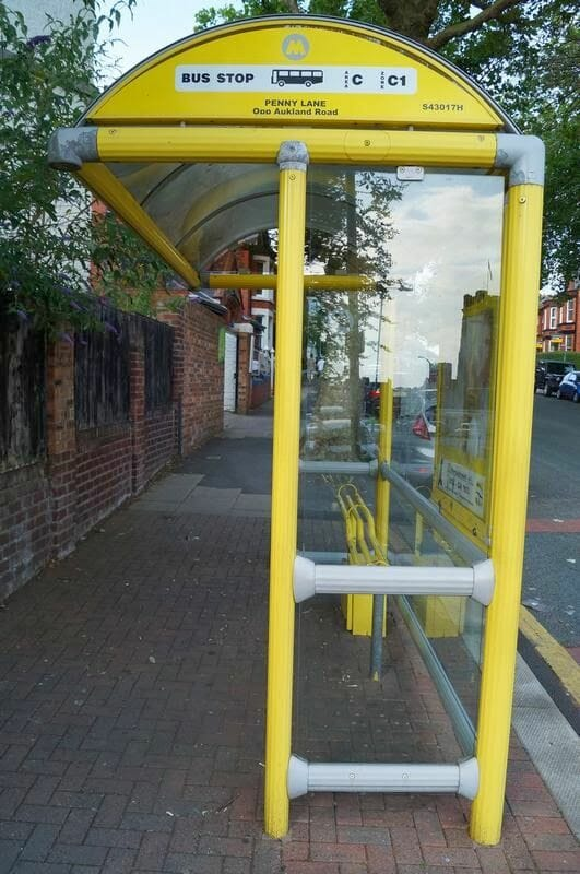 penny lane parada de bus