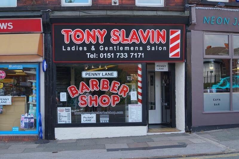 penny lane, lugares de canciones de Beatles, el Liverpool de los Beattles, calles de canciones, infancia de los Beatles, Paul Mccartney, barberias famosas,