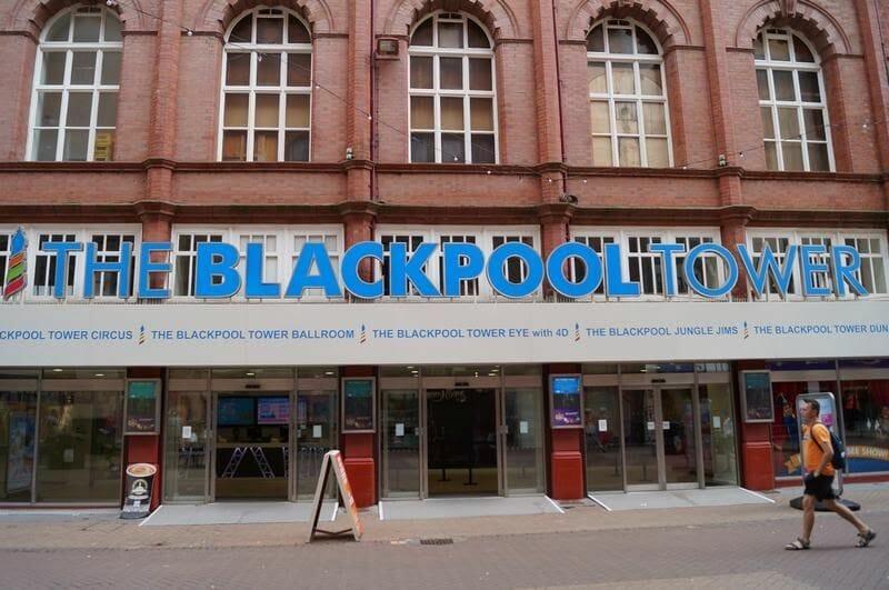 Torre de Blackpool Inglaterra entrada