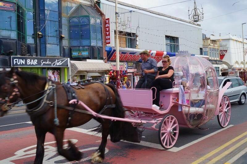 carrozas de Blackpool Inglaterra