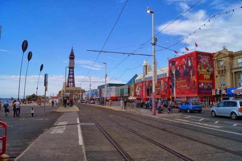 Torre de Blackpool Inglaterra