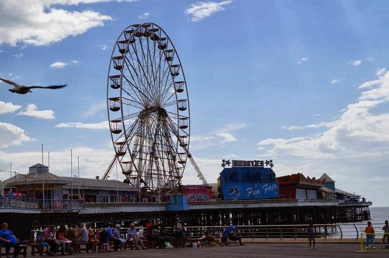 noria de Blackpool Inglaterra
