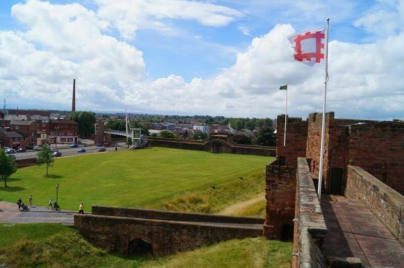 castillo de Carlisle, muro de adriano, castillos normandos, english heritage