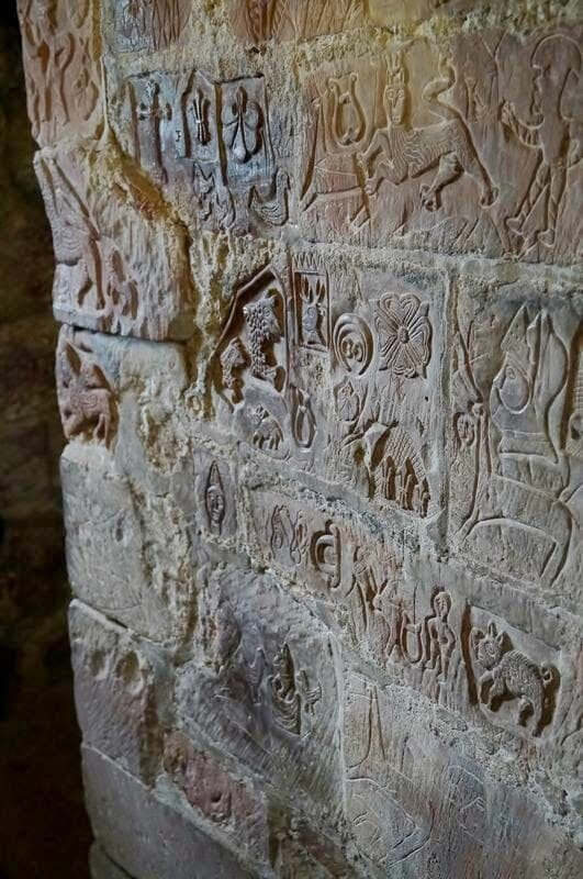 castillo de Carlisle, muro de adriano, castillos normandos, english heritage, doodles,