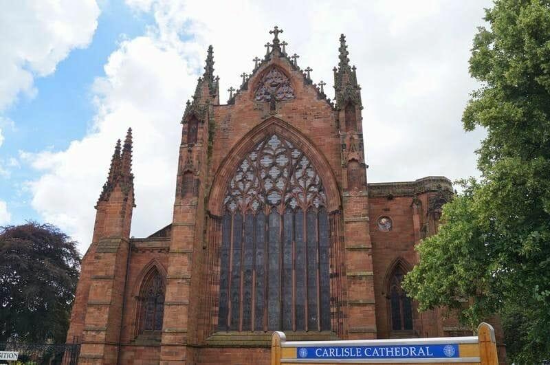 catedral de Carlisle fachada principal