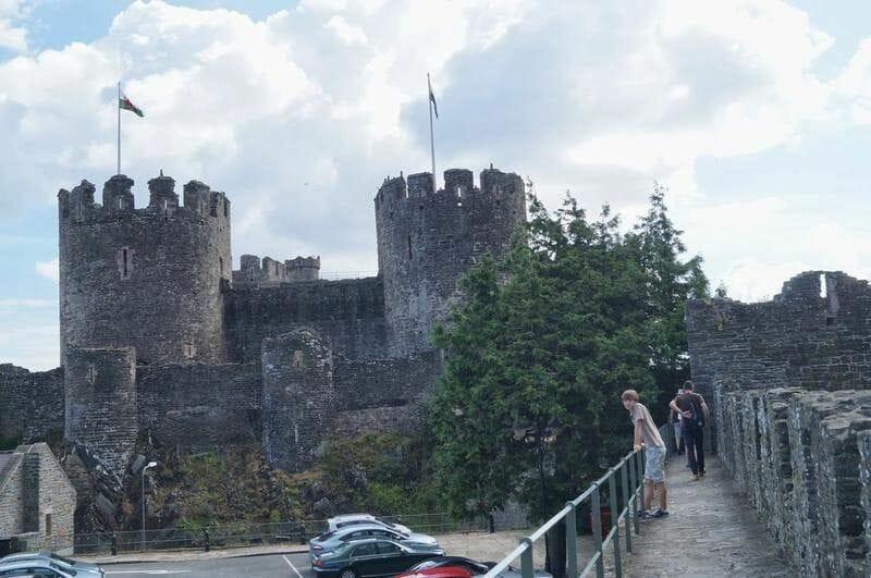 muralla y castillo de Conwy
