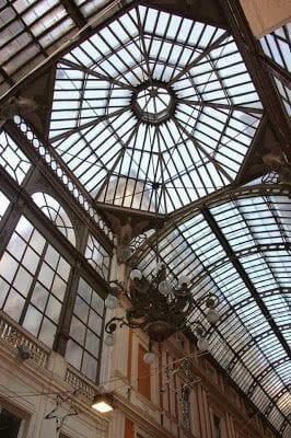 galleria Mazzini cupula cristal