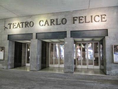 teatro Carlo Felice Qué ver en Génova en un día