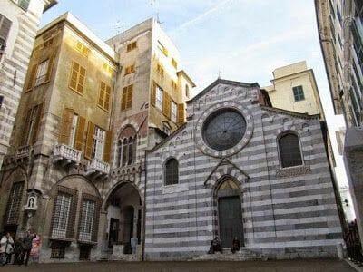piazza medieval de San Matteo