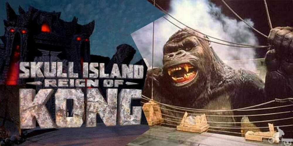 skull island reign of kong - Universal Islands of Adventure