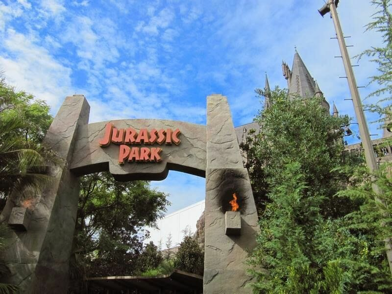 entrada Jurassic parc - Universal´s Islands of Adventure