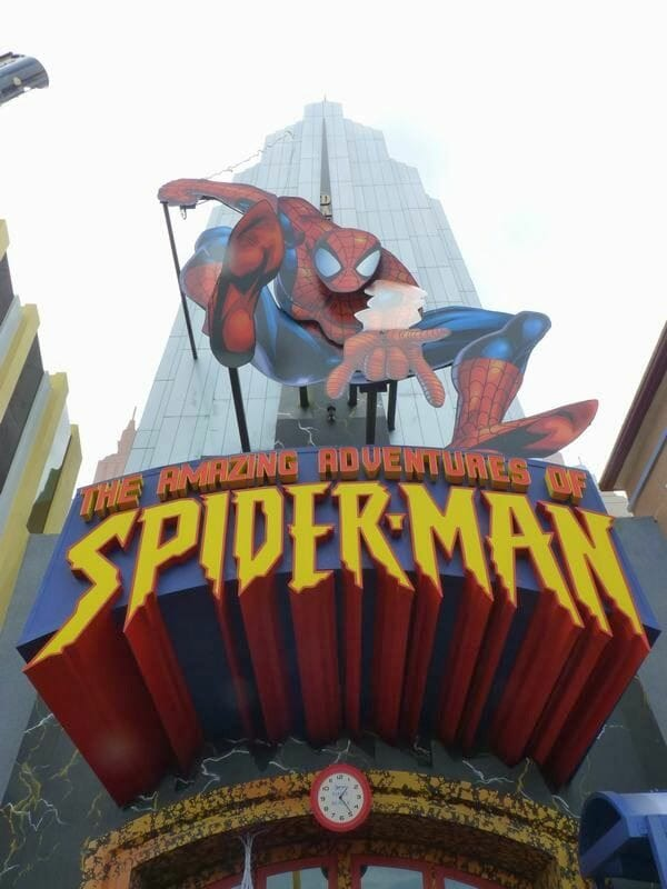 Spiderman - Universal Islands of Adventure