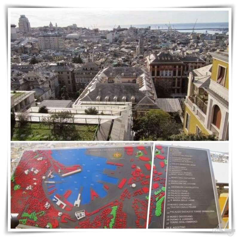vistas qué ver en Génova en un día