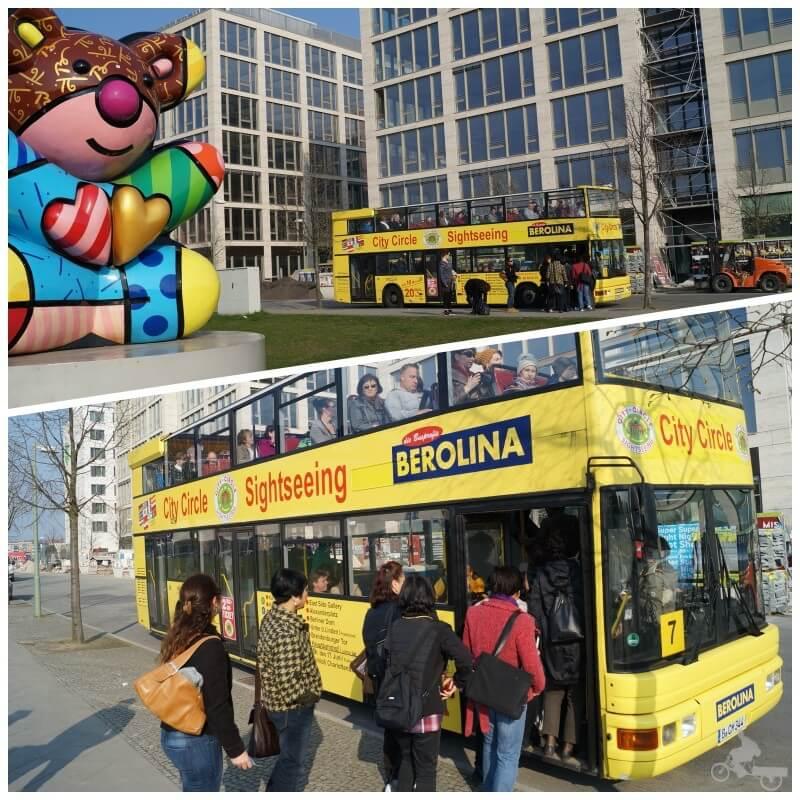 bus turistico de Berlín