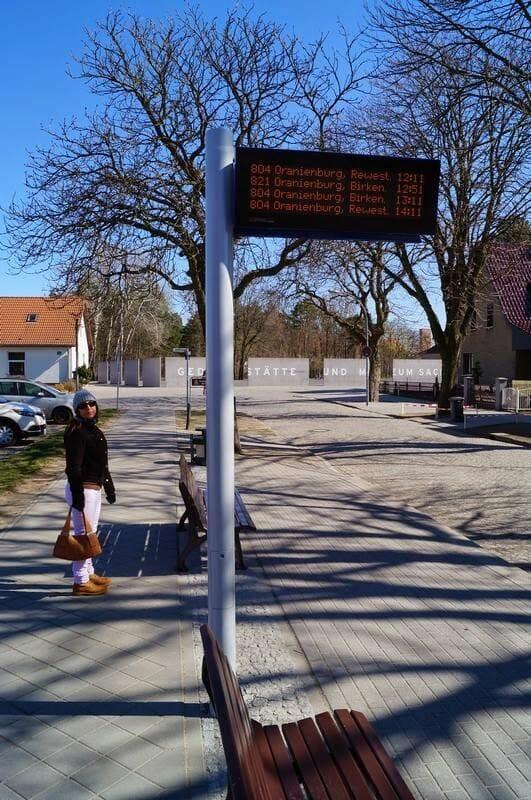 parada de bus de Sachsenhausen