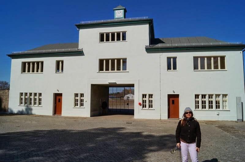 entrada campo de concentración de Sachsenhausen