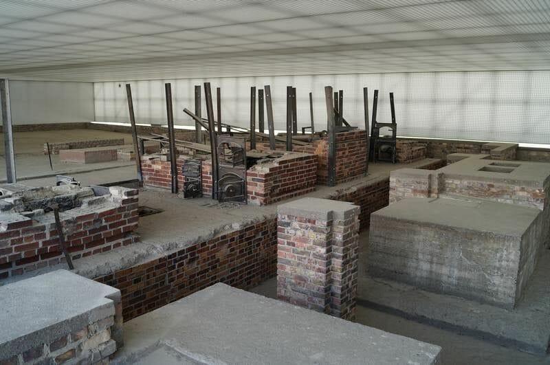 hornos de cremación de Sachsenhausen