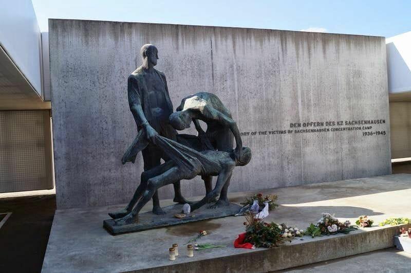 memorial en Sachsenhausen