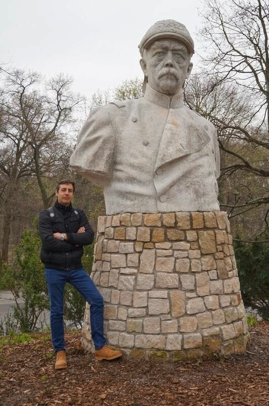 estatua de Bismarck