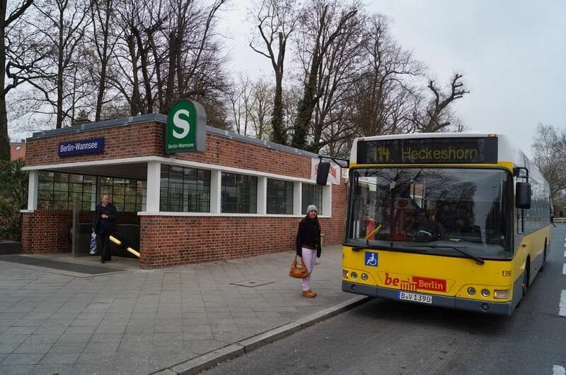parada del bus 114 Wannsee